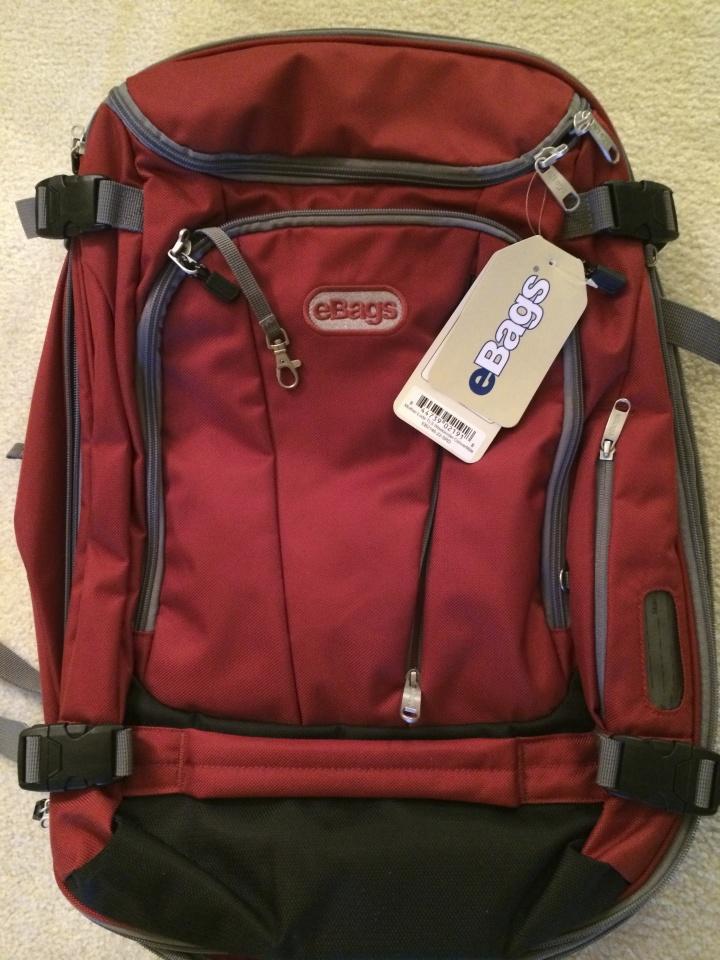Ebags Motherlode TLS Weekend Convertible backpack