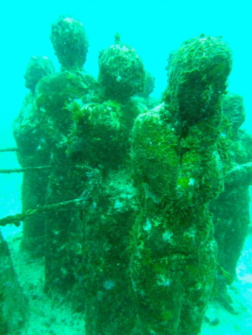 Cancun Underwater Museum (MUSA) project Cancun, Mexico