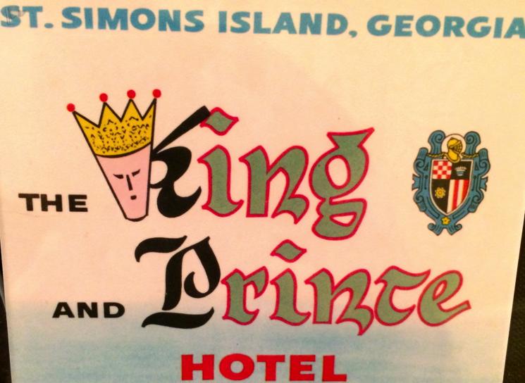 The Kind and the Prince Hotel, St. Simons Island, Georgia, St Simons Island Map, St Simons Island Beach, St Simons by the Sea, Little St Simons Island