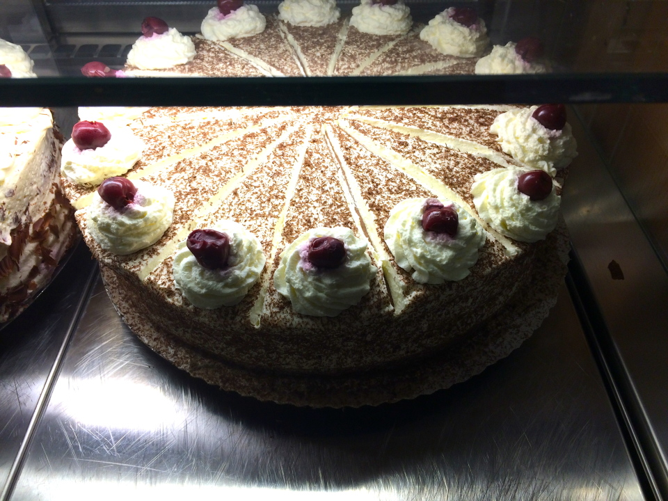 Black Forest Cake, Schluvchsee,Germany