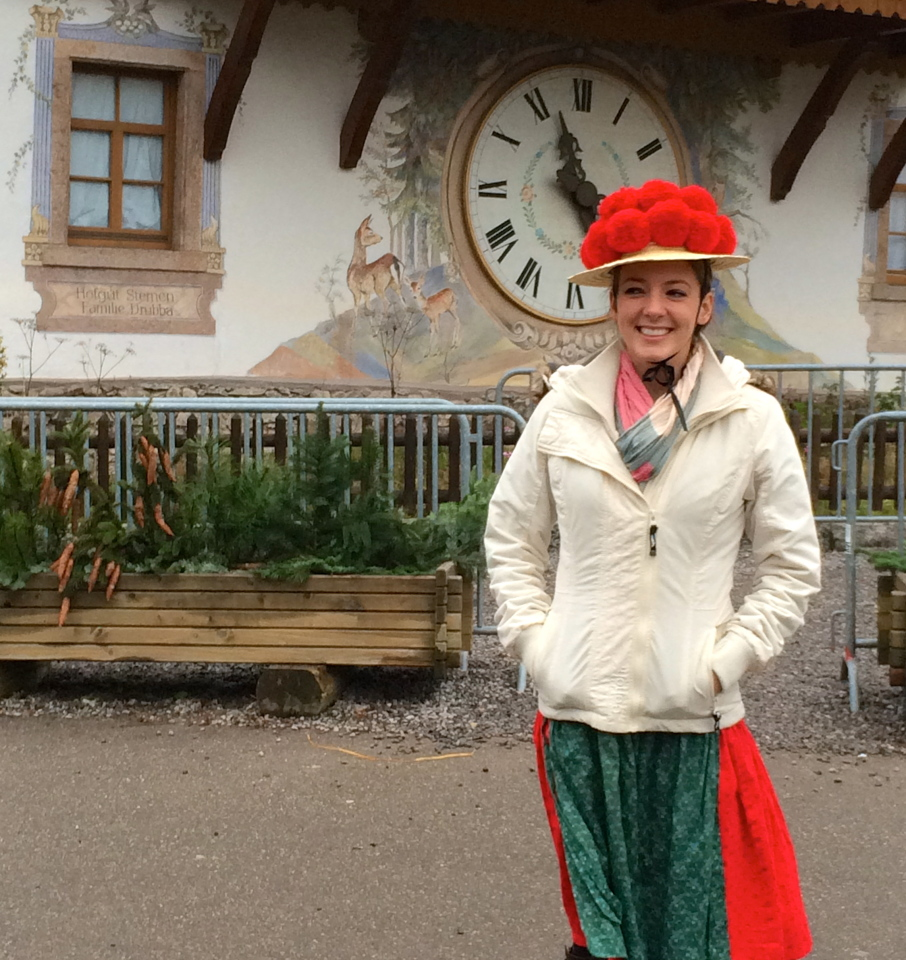 Black Forest, Germany's Traditional Bollenhut Hat