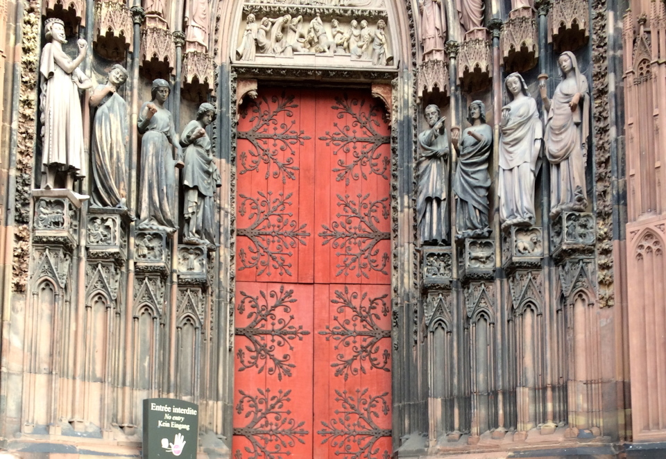 Strasbourg, France Cathedral