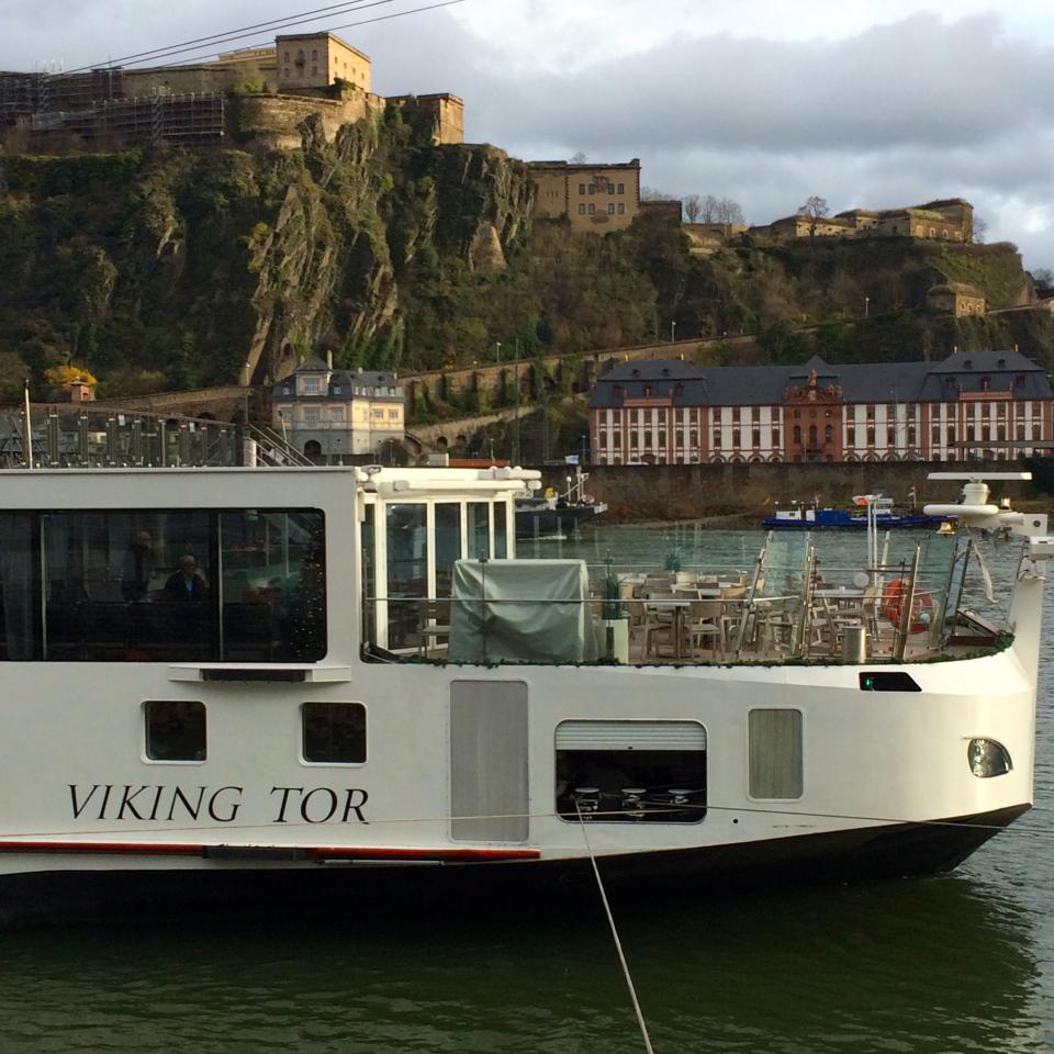 Viking River Cruise down the Rhine: Ship TOR
