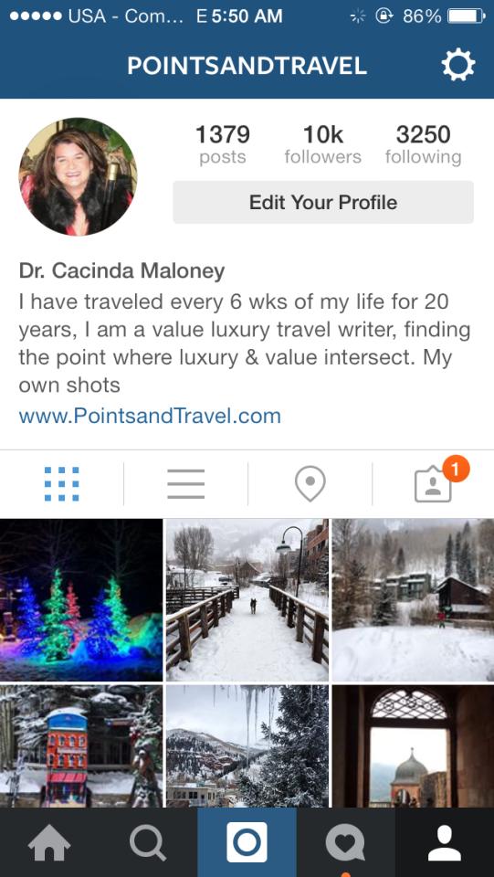 Instagram PointsandTravel