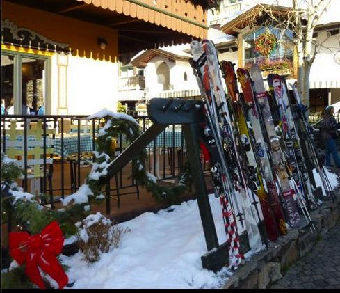 Ski town in Colorado