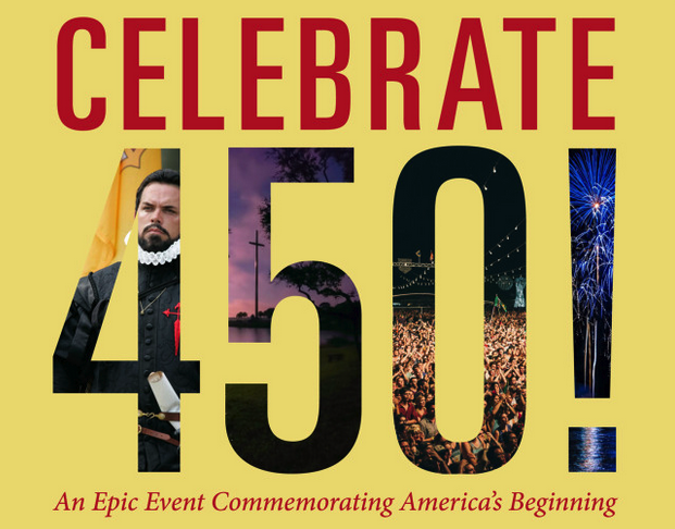 Commemorate the 450 anniversary of American's beginning. *Photo courtesy of St Augustine-450.