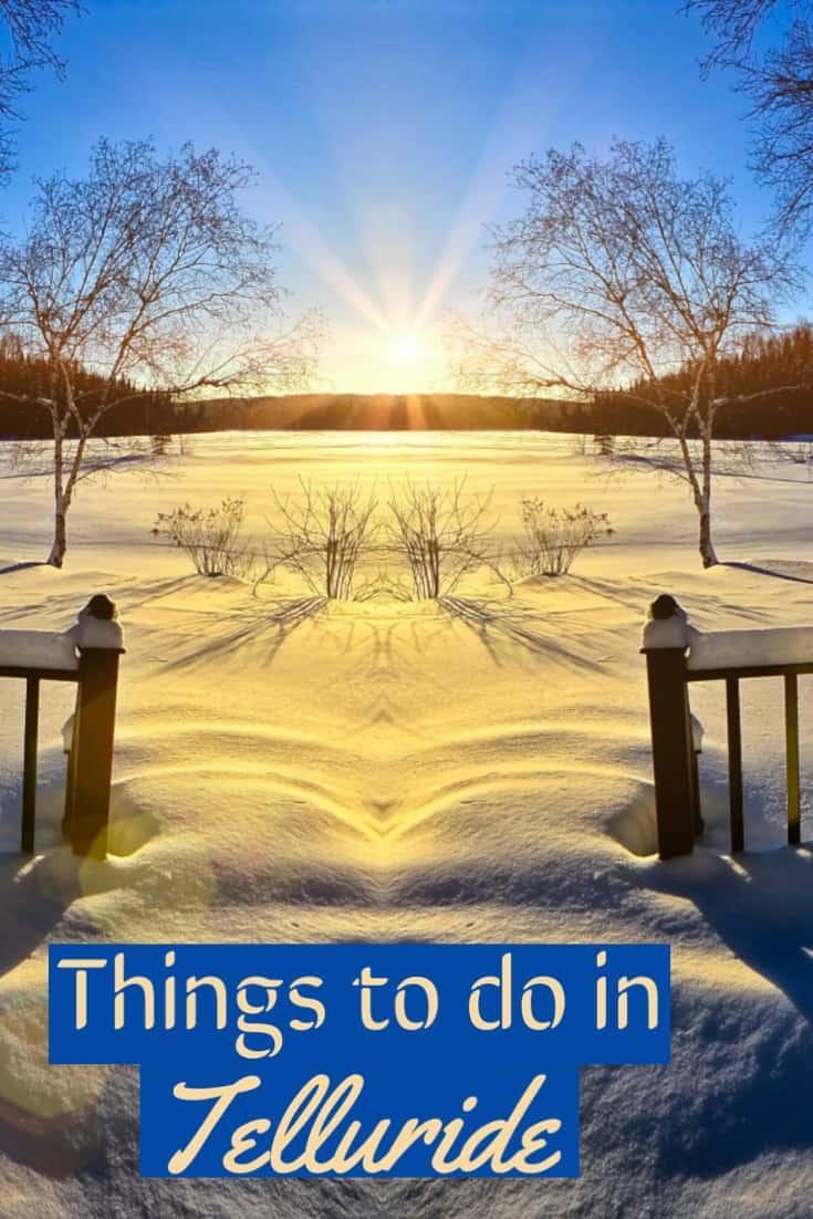 What to do in Telluride, What to do in Telluride Colorado, #Telluride #ski #Colorado