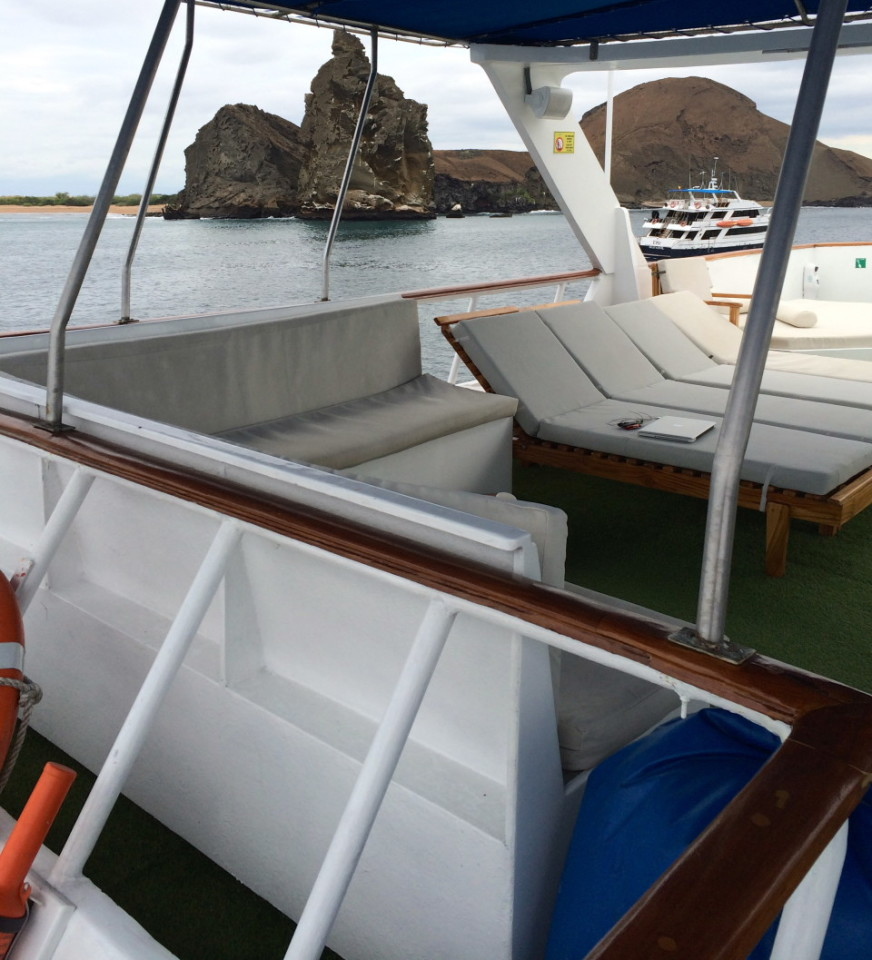 What is really like on an Ecoventura yacht in the Galapagos?