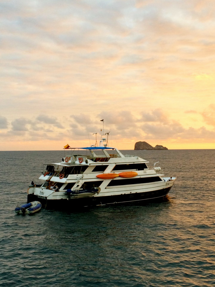 What is really like on a Ecoventura yacht in the Galapagos?