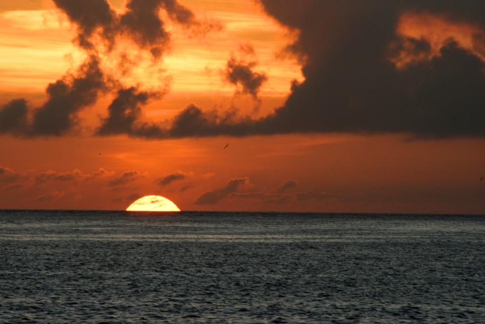Galapagos Islands, sunset