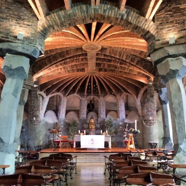 Best Day Trips From Barcelona – Colonia Güell And Gaudi's Crypt