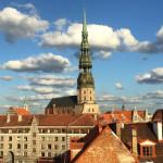 The Bremen Town Musicians Statue - Riga, Lativa
