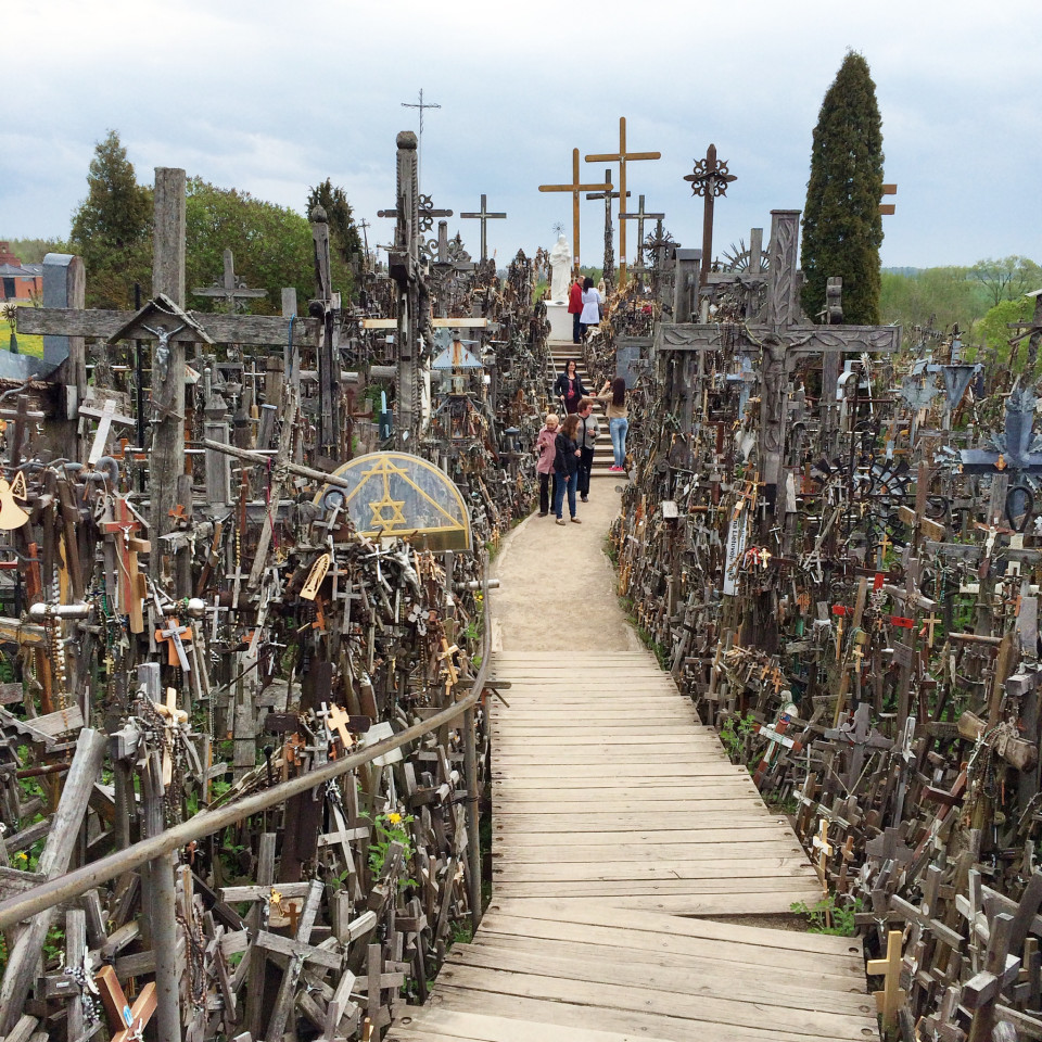 Lithuania Restores Its Old Rugged Cross For A Crown Hill Of Crosses