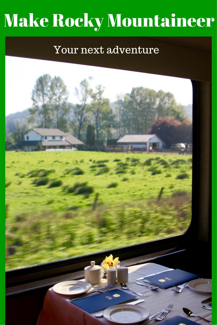 Great Railway Journeys: Rocky Mountaineer view