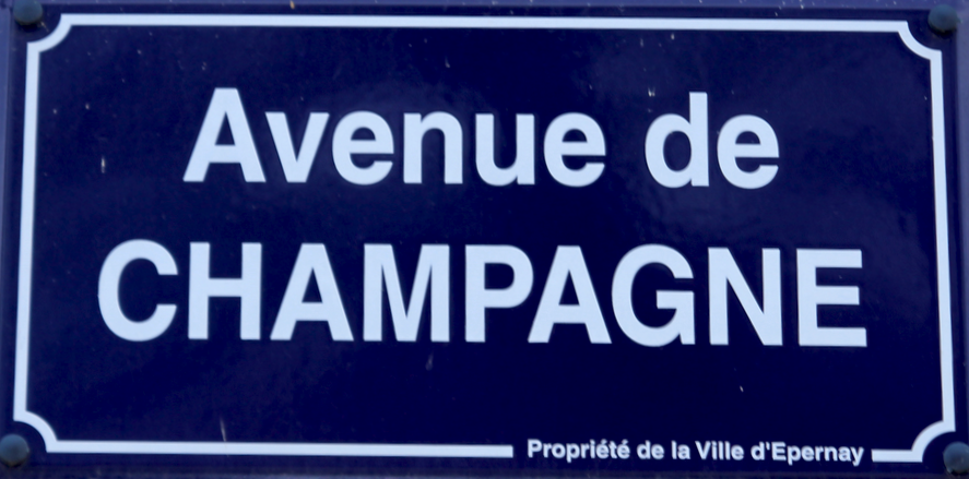 Epernay, Avenue de Champagne, French Wine Regions