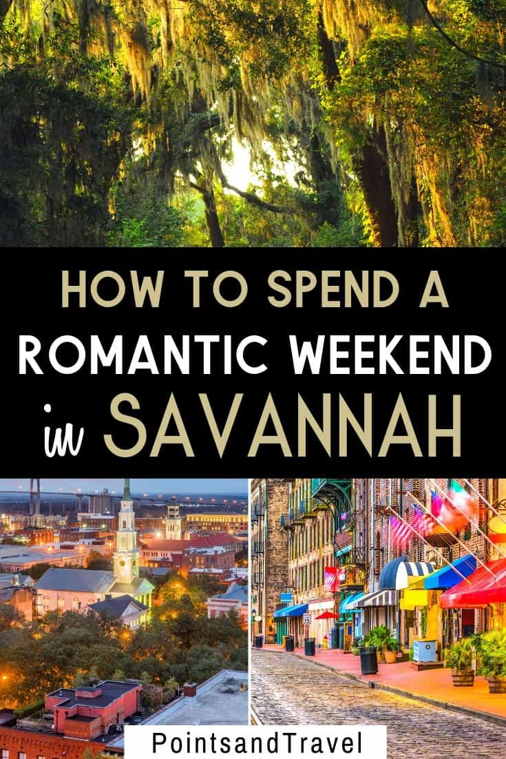 The most romantic things to do in Savannah GA, How to spend a romantic weekend in Savannah, #Savannah #Georgia