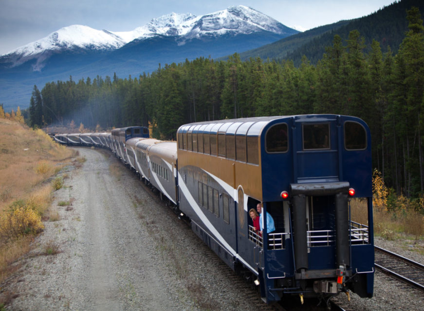 Rocky Mountaineer Train #CanadianRockies #Canada #RockyMountaineer