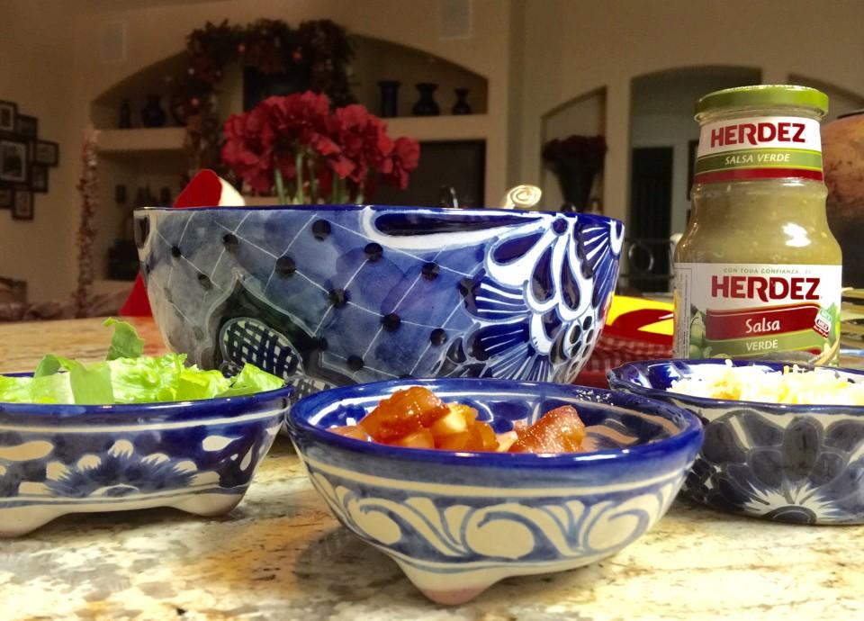 Las Posadas: A Latin American Tradition, Salsa, Herdez