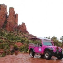 Pink Jeep Tours Sedona, pink jeep, pink jeep wrangler
