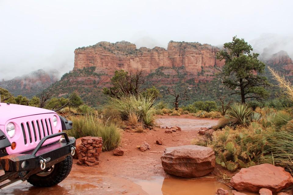 Pink Jeep Tours Sedona, pink jeep, pink jeep wrangler, Sedona Jeep Tours