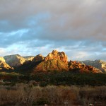 Sedona's Red Cathedral Rocks