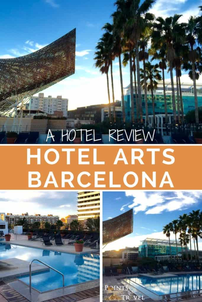 Hotel Barcelona, Hotel Arts Barcelona – A Hotel Review