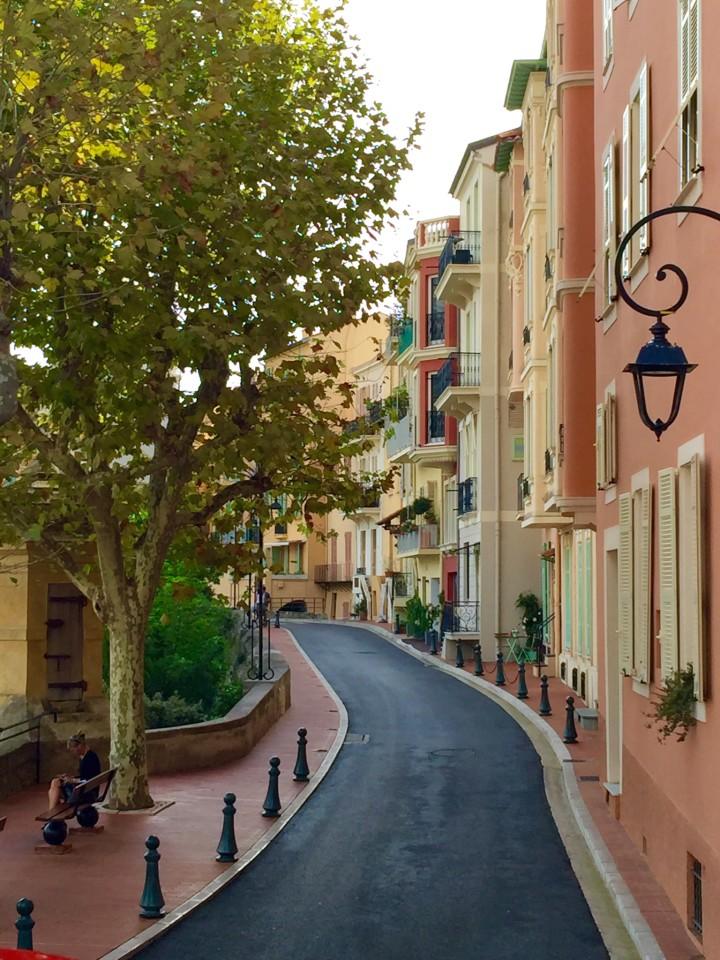 Monte Carlo Monaco street scene