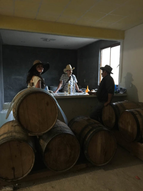 Oaxacan Mezcal and the Passion of One Man, Alberto Martinez, cantimplora travel with liberal mezcal farmer