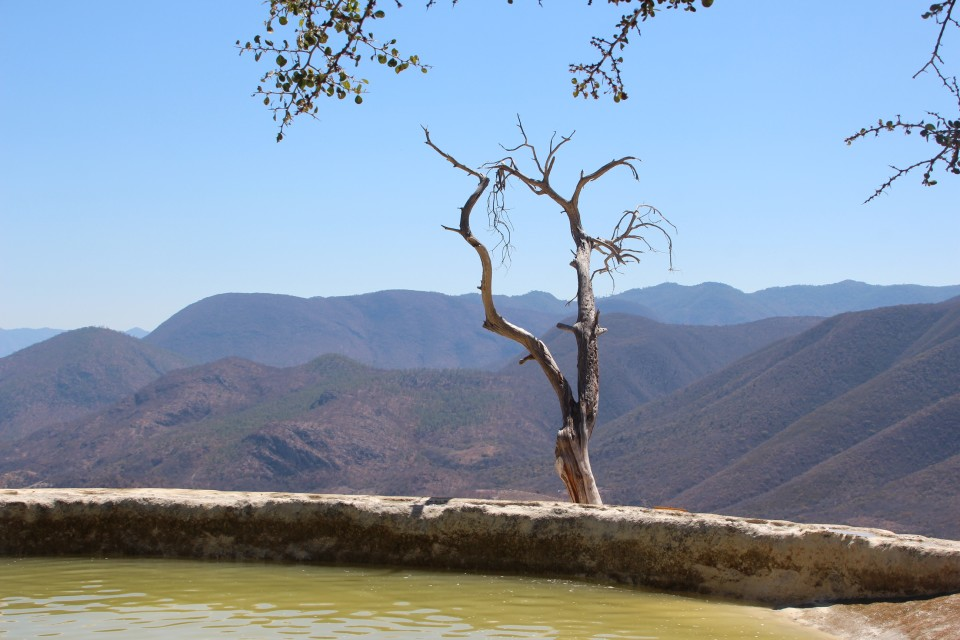 hierve el agua oaxaca petrified waterfall oaxaca hierve el agua, mexico