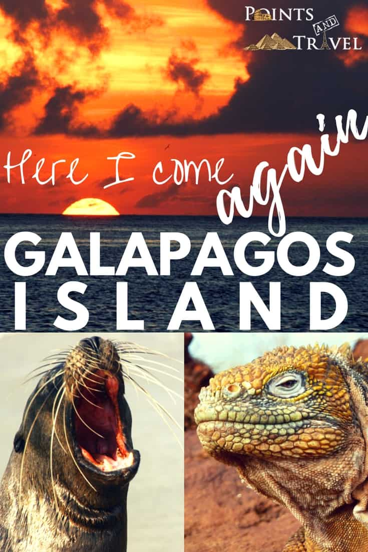Galapagos Islands: Here I come again