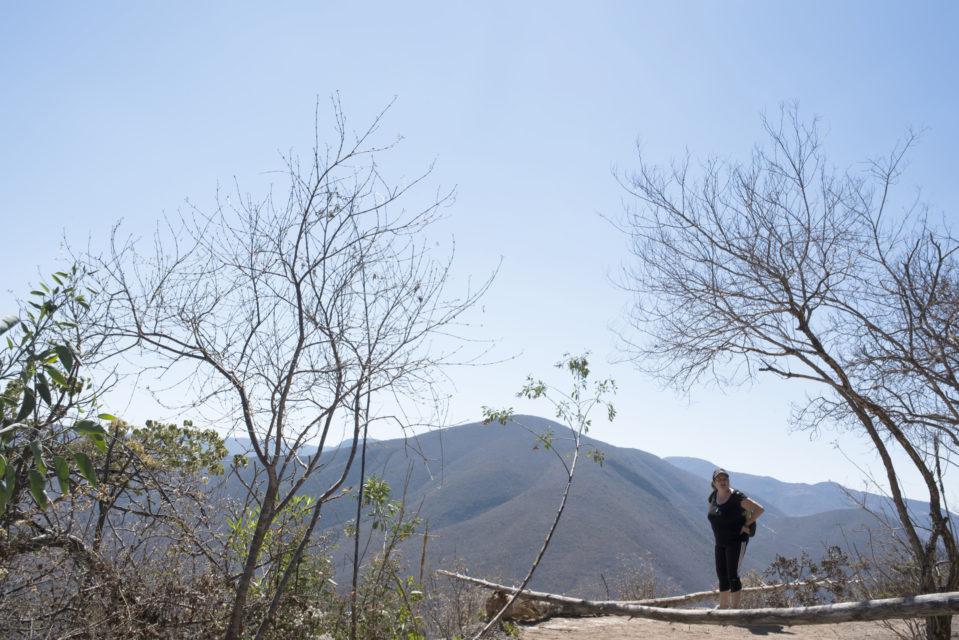 Mountainous area near Hierve el Agua, Oaxaca, Mexico