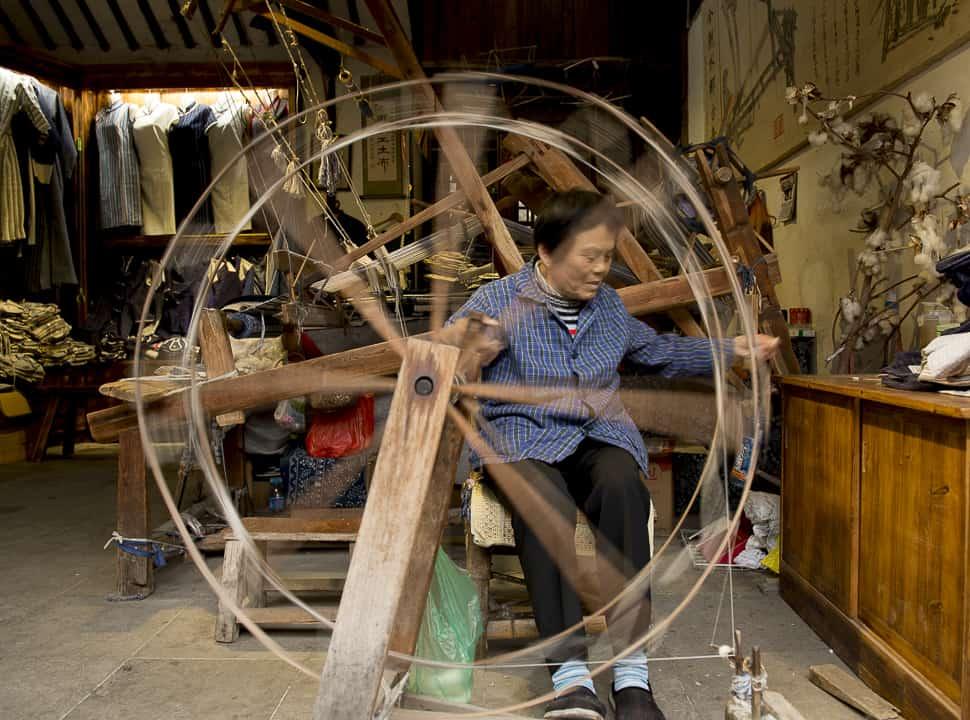Woman of Xitang, China
