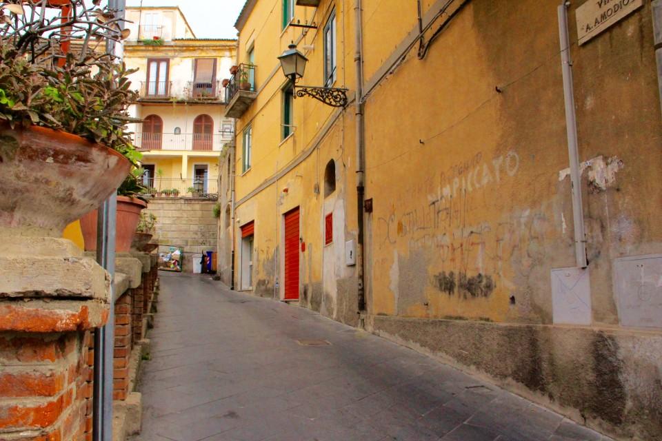 Southern Italy Street Scene, Gelato Italiano,