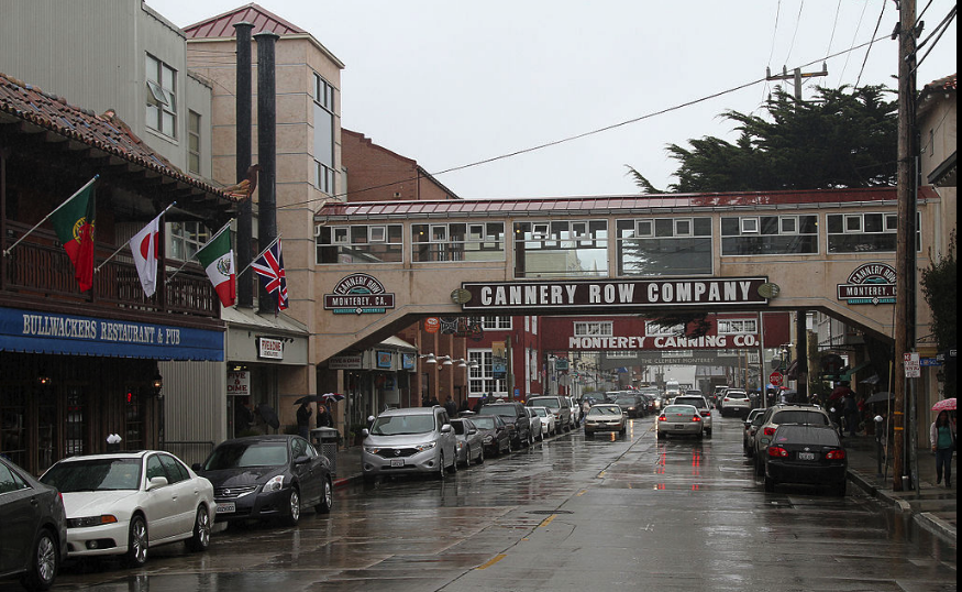 Discovering the town of Monterey CA at Cannery Row