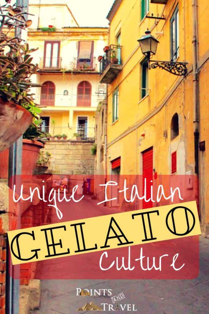 Gelato Italiano, Unique Italian Gelato Culture