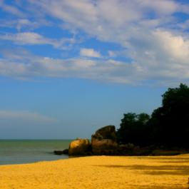 Port Dickson Attractions, Port Dickson Beach, Malaysia, tropical, beach setting