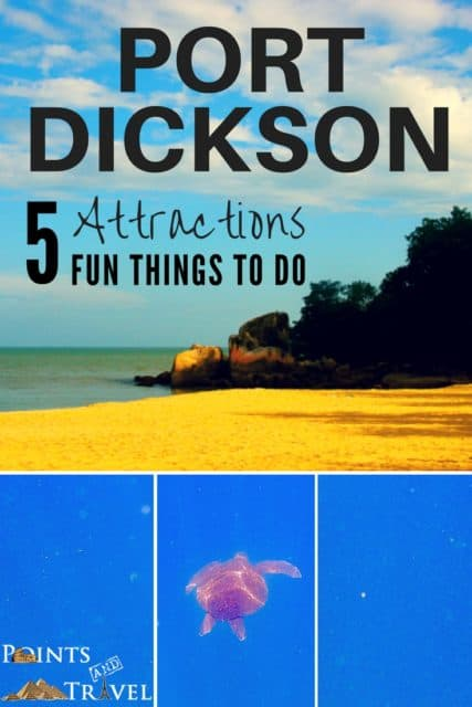 Port Dickson Attractions, Port Dickson Beach,