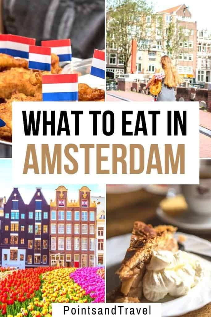 The Ultimate Amsterdam Foodie Guide: What to Eat in Amsterdam. The best Dutch food to try and my favorite dishes in Amsterdam. Take this amazing food tour to experience all the best food spots in the city. #amsterdam #dutchfood #netherlands What to eat in Amsterdam | Amsterdam Food Guide | Amsterdam Foodie Guide | Amsterdam Food Tour | Best Places to eat in Amsterdam | Dutch Food | #Foodie #Amsterdam #Netherlands