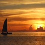 The Classic American Road Trip: Florida Keys, Sunset, Key West