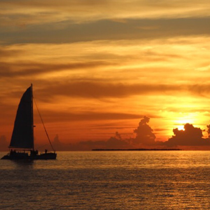 The Classic AmericanRoad Trip: Florida Keys, Sunset, Key West