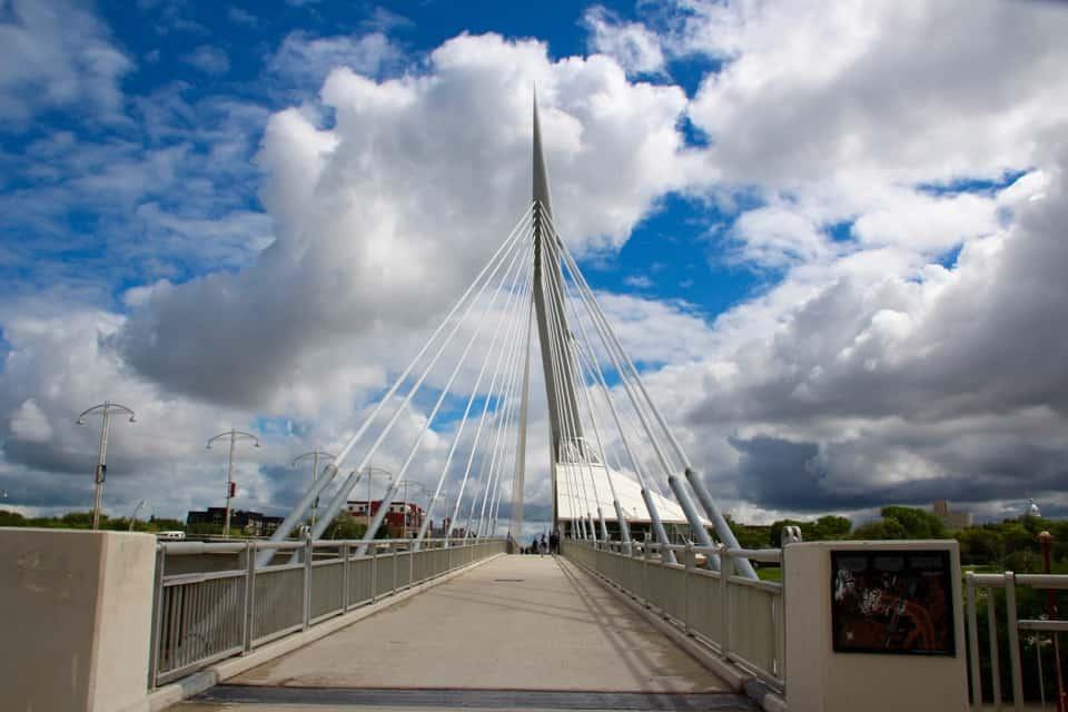 Esplanade Riel Pedestrian Bridge, Winnipeg, Canada, Beluga Whale and Polar Bear Safari: Churchill Manitoba, Frank Gehry