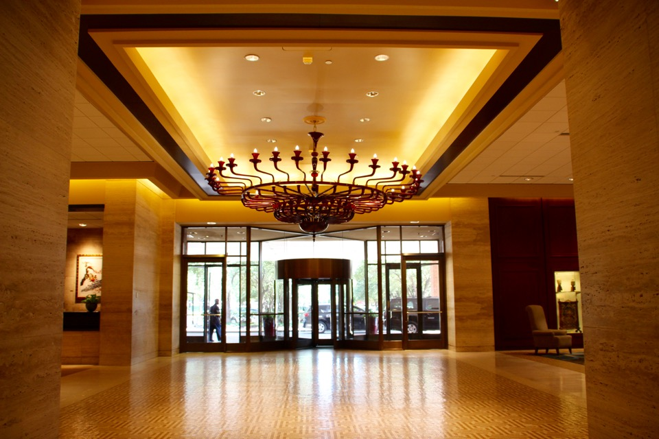 The Best Dallas-Fort Worth Airport Layover Options, Hilton Anatole, Texas, Asian Inspired Hilton Hotel