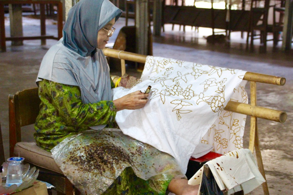 Travel to Indonesia to learn the art of Batik. You will be mesmerized by this fascinating art form.