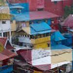 The Color Block Favelas of Yogyakarta, Indonesia