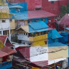 Come along with me as I travel to Indonesia and explore the color block favelas of Yogyakarta, Indonesia,.