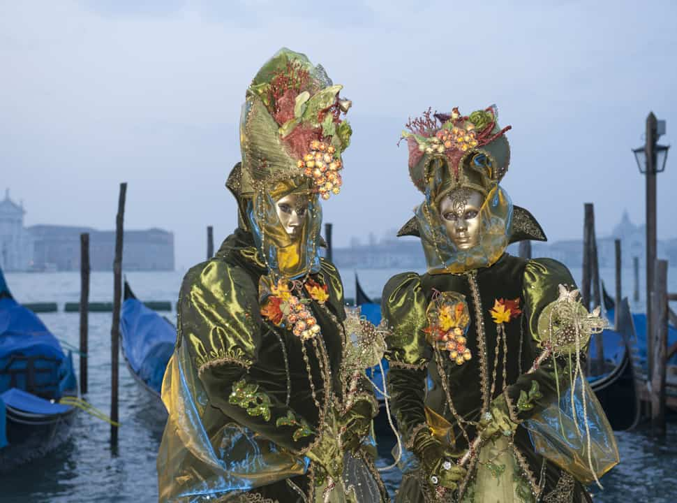 Amazing costumes at the Carnival of Venice!