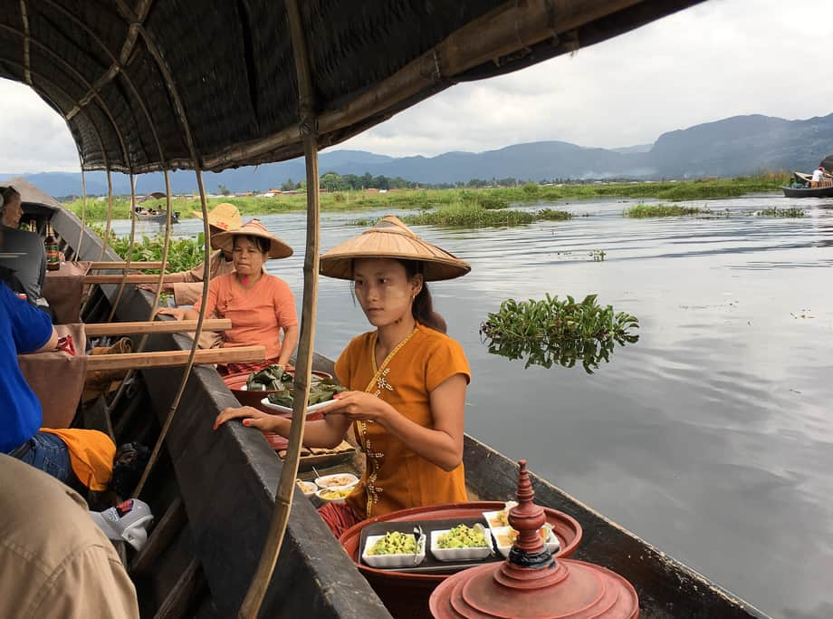 Myanmar Burma: Water Dwellers of Inle Lake: Come along with Travel Writer Donnie Sexton as she visits Myanmar's Water Dwellers of Inle Lake.
