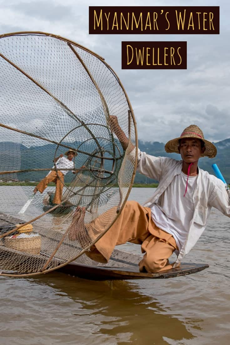 Myanmar, Burma, Water Dwellers of Inle Lake. #Myanmar #Burma #Travel