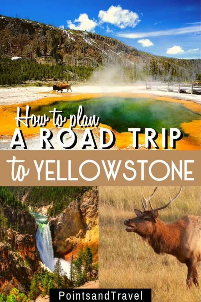 The ultimate road trip to Yellowstone National Park, #YellowStone #RoadTrip #Montana