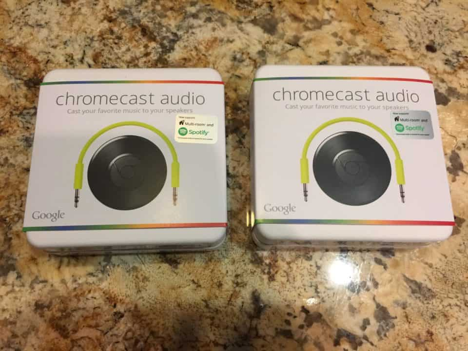 Come along with me as I review Chromecast Audio